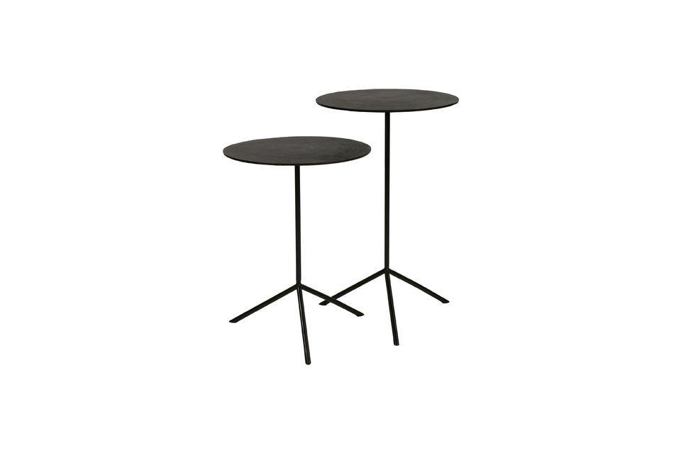 2 pequeñas mesas auxiliares Jive Pomax