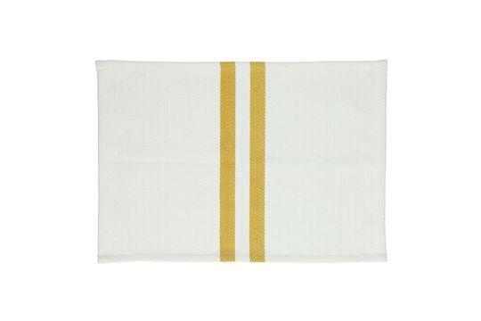 4 manteles de algodón Tizia