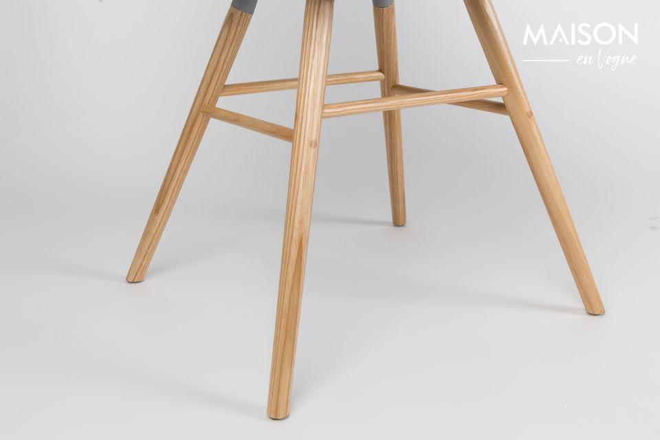 Las influencias escandinavas de la silla gris oscura Albert Kuip darán dinamismo a su interior