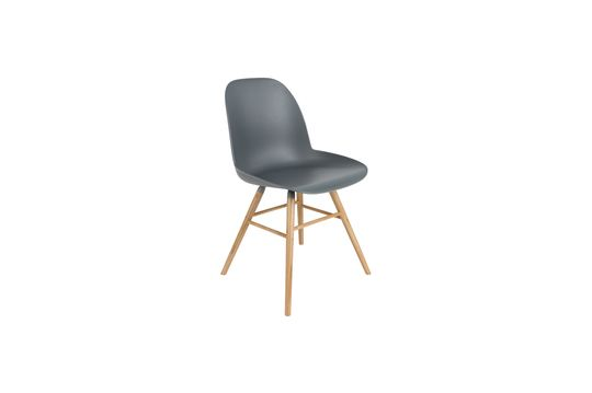 Albert Kuip Silla gris oscuro Clipped