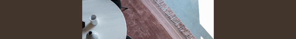 Descriptivo Materiales  Alfombra Blink 170X240 Pink