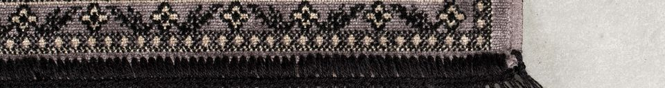 Descriptivo Materiales  Alfombra Bo 160X230 Gris
