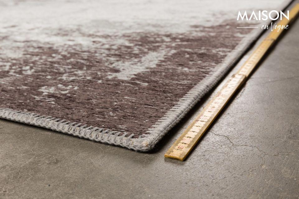 La alfombra Caruso de Dutchbone ofrece el atrevido contraste entre el estilo industrial y lo