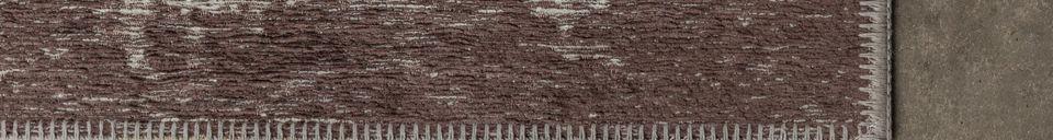 Descriptivo Materiales  Alfombra Caruso 170X240 marrón