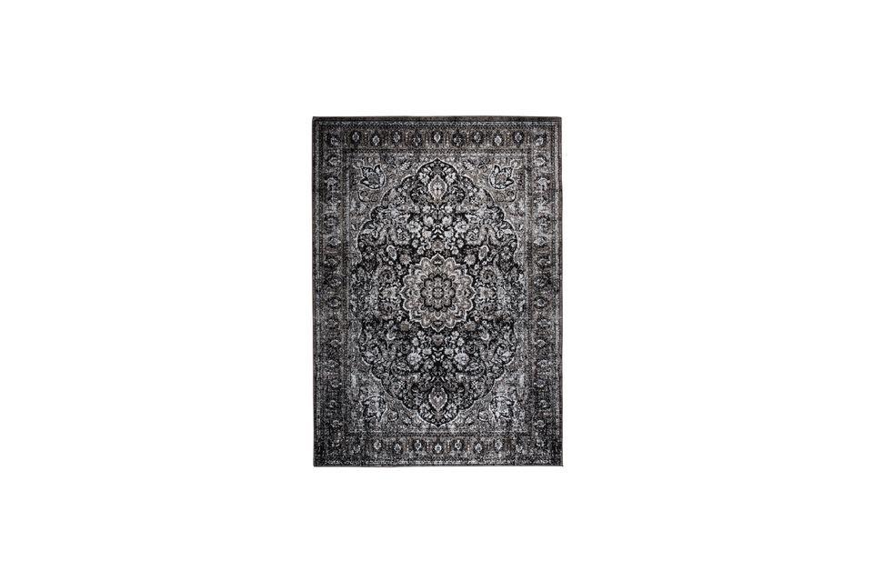 Alfombra Chi 160X230 negro White Label
