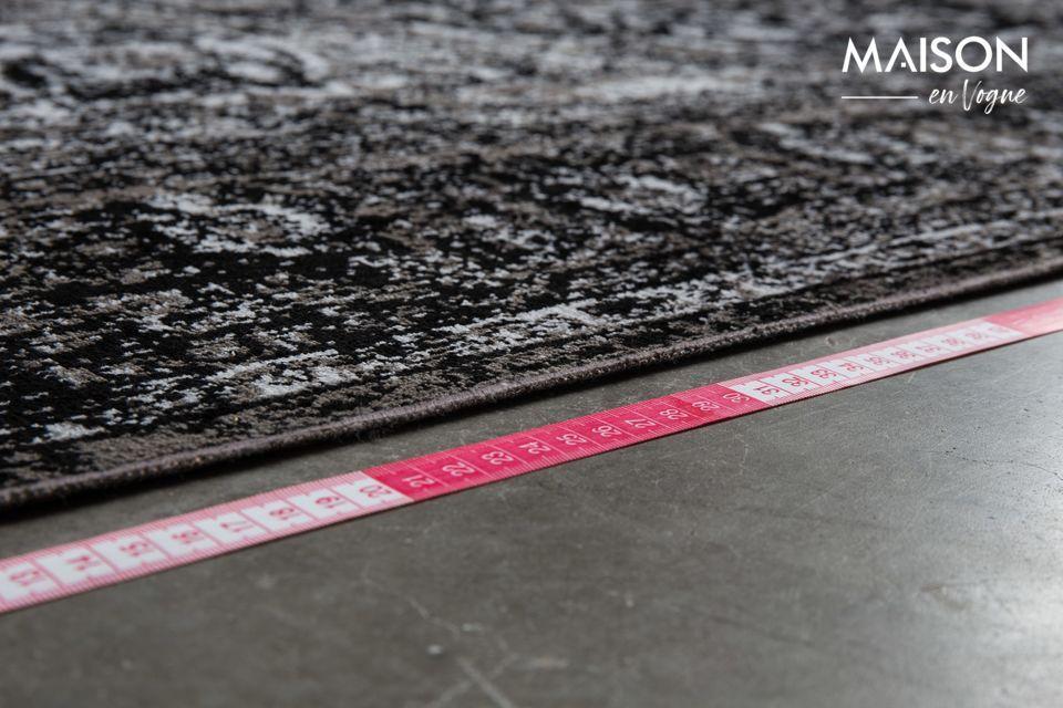 Una alfombrilla con un diseño elegante, compatible con la calefacción por suelo radiante