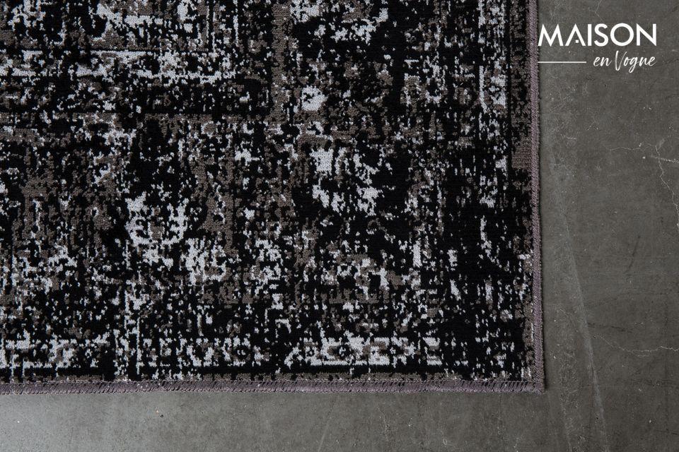 Alfombra Chi 160X230 negro - 12