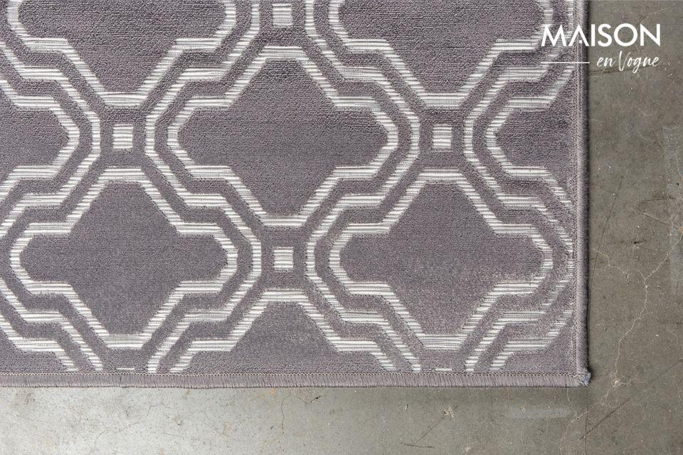 Una alfombra que combina protección y estilo