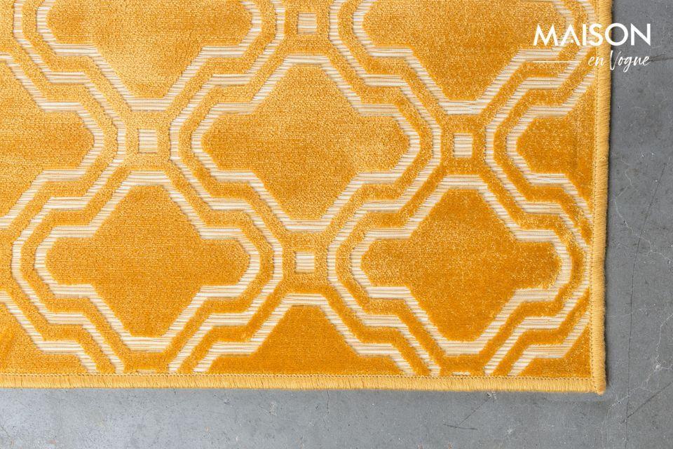 Sus patrones geométricos que recuerdan el estilo Art Deco traerán a su interior un muy apreciado