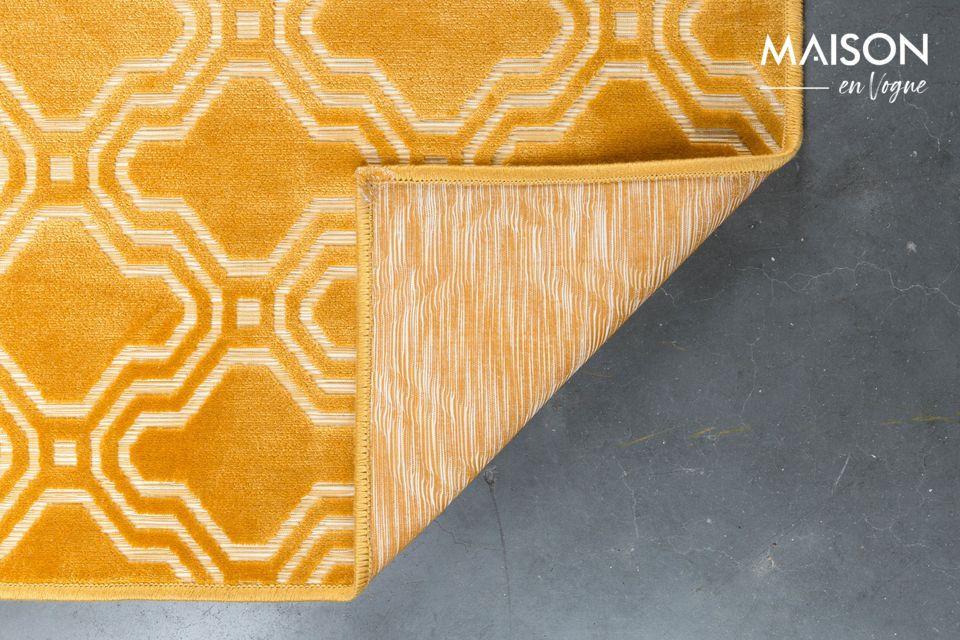 Muy agradable al tacto, la alfombra es fácil de limpiar con una aspiradora