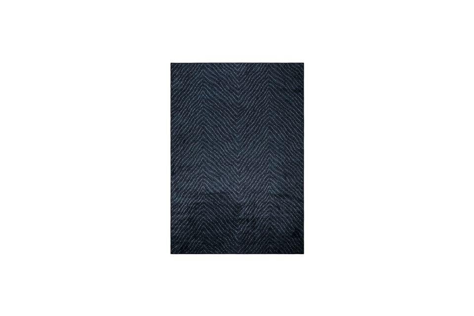 Alfombra Freek 170X240 Azul White Label