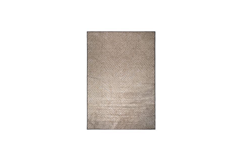 Alfombra Freek 170X240 Marrón White Label