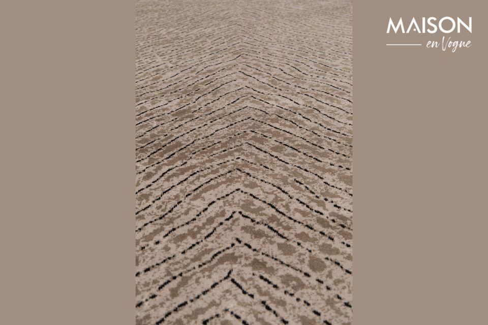 Una auténtica alfombra para vestir cálidamente su casa