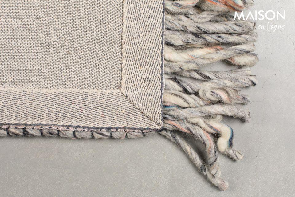 Alfombra Frills 170X240 gris-azul - 9