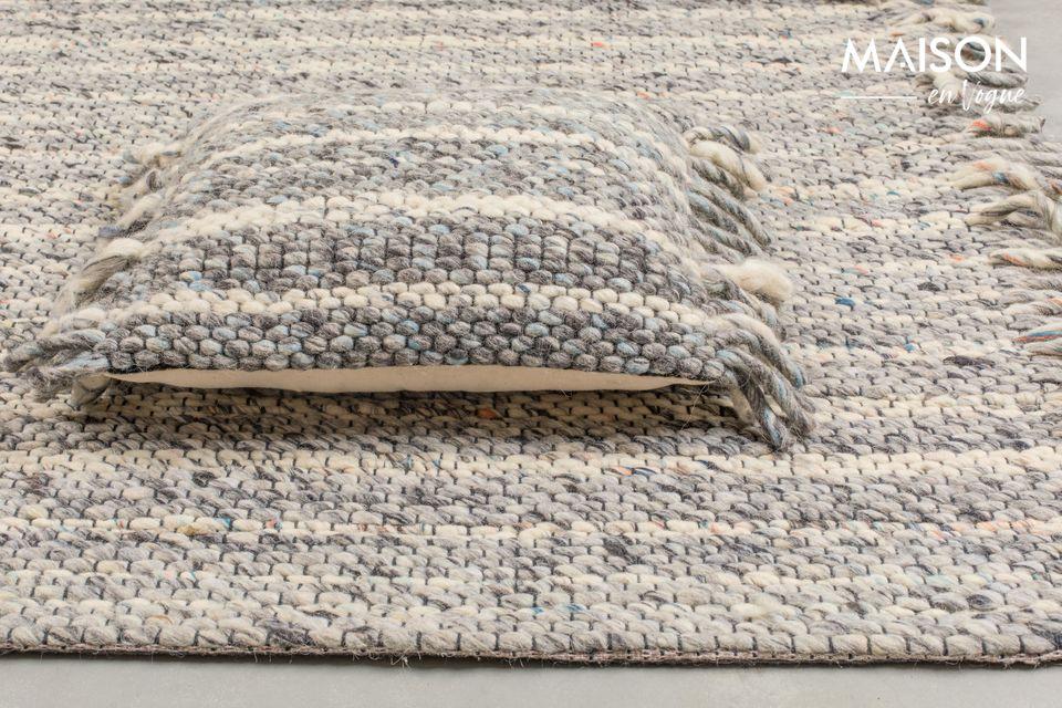 Hecho de lana, este modelo también le proporcionará el máximo confort y calidez