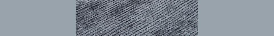 Descriptivo Materiales  Alfombra Frish 170X240 Gris Pizarra