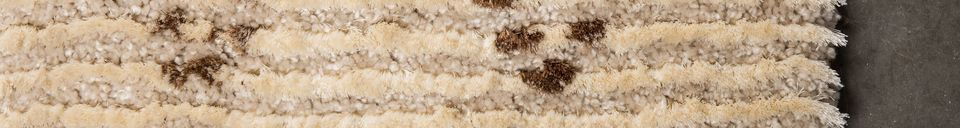 Descriptivo Materiales  Alfombra Jafar 160X230
