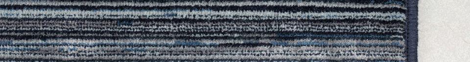 Descriptivo Materiales  Alfombra Keklapis 170X240 Azul