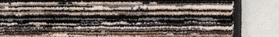 Descriptivo Materiales  Alfombra Keklapis 170X240 Gris