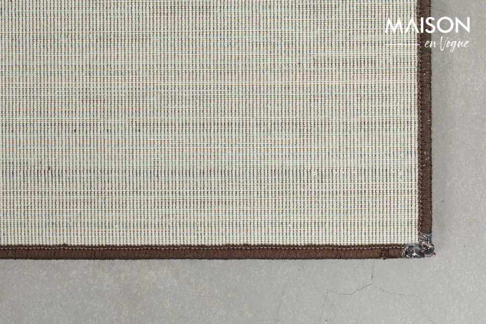 Una alfombra intrigante con un aspecto innovador