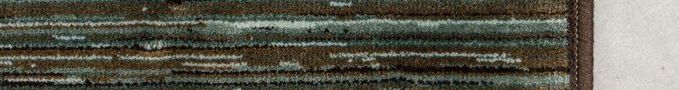 Descriptivo Materiales  Alfombra Keklapis 170X240 Verde