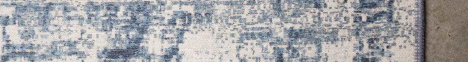 Descriptivo Materiales  Alfombra Malva 200X300 Denim