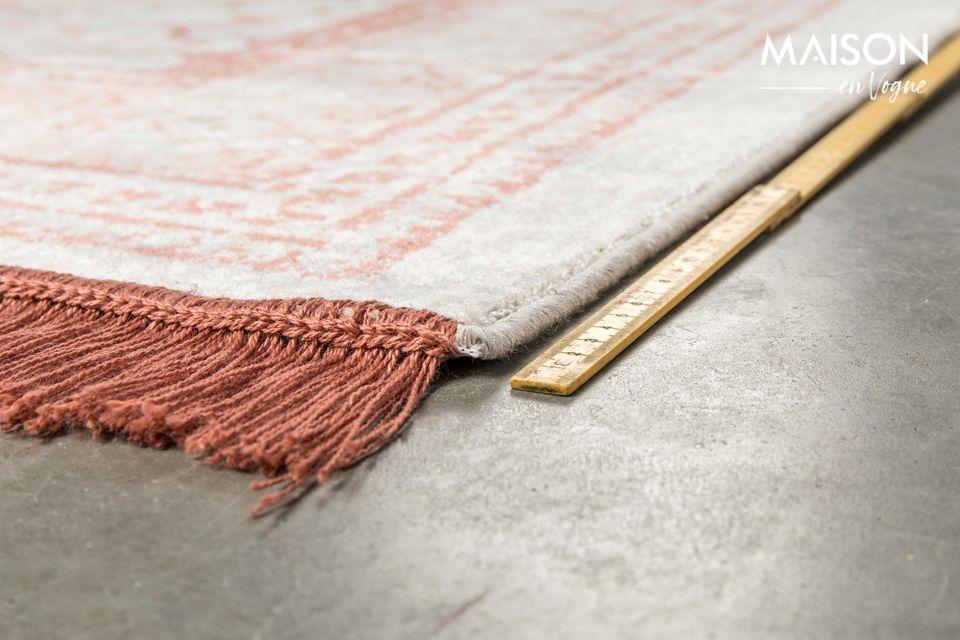 Son los patrones rojos persas los que dan a la alfombra de Marvel Blush un auténtico encanto
