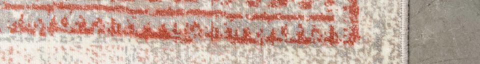 Descriptivo Materiales  Alfombra Marvel 170X240 Blush
