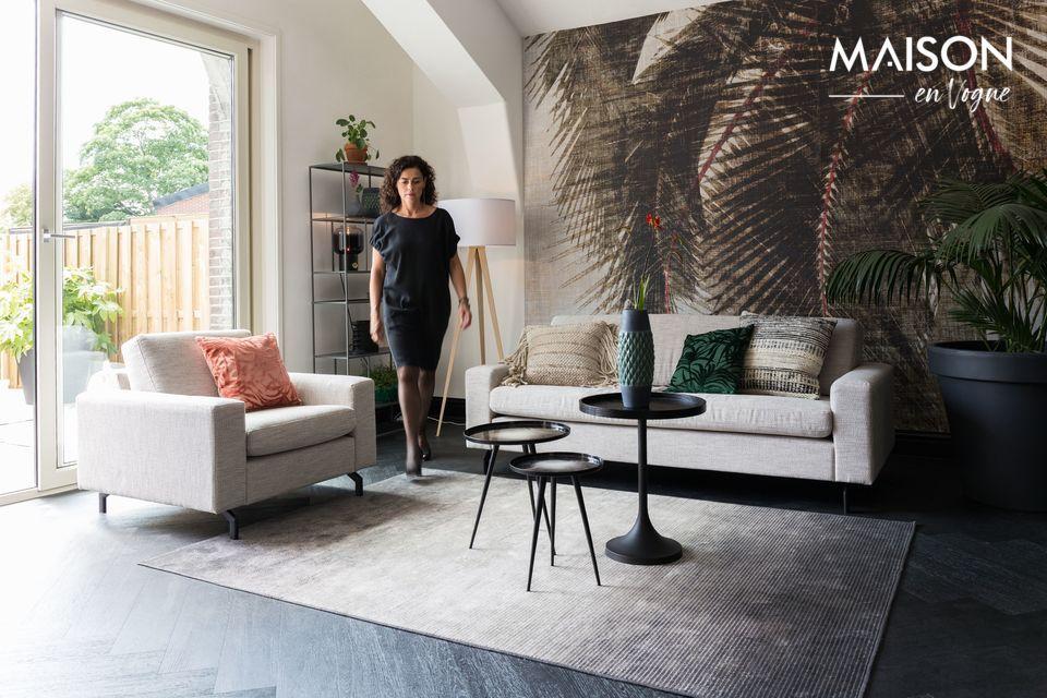Cómoda alfombra con un intrigante diseño