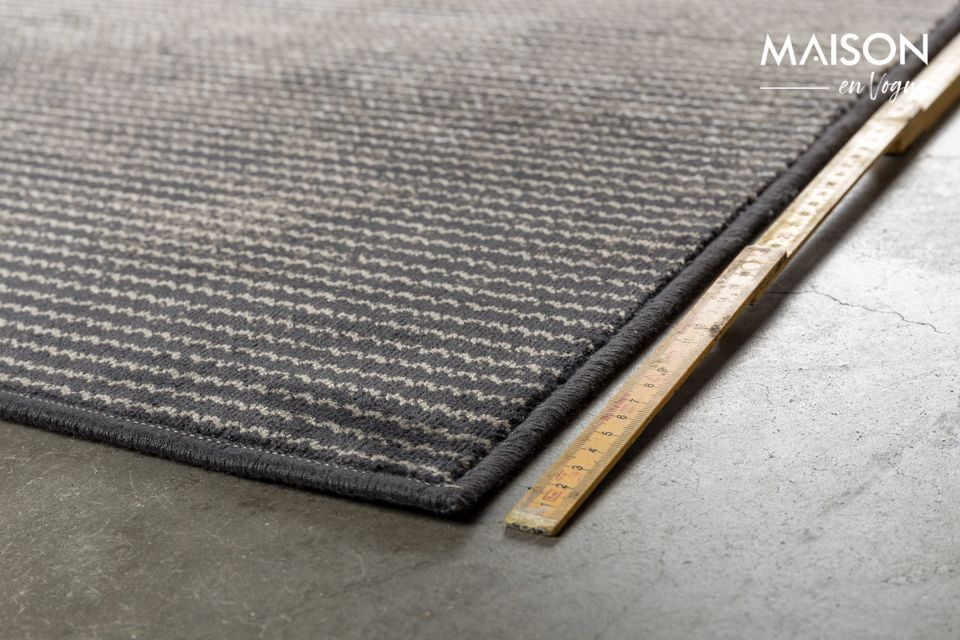 La alfombra gris Obi 170 X 240 no revela todos sus secretos a primera vista