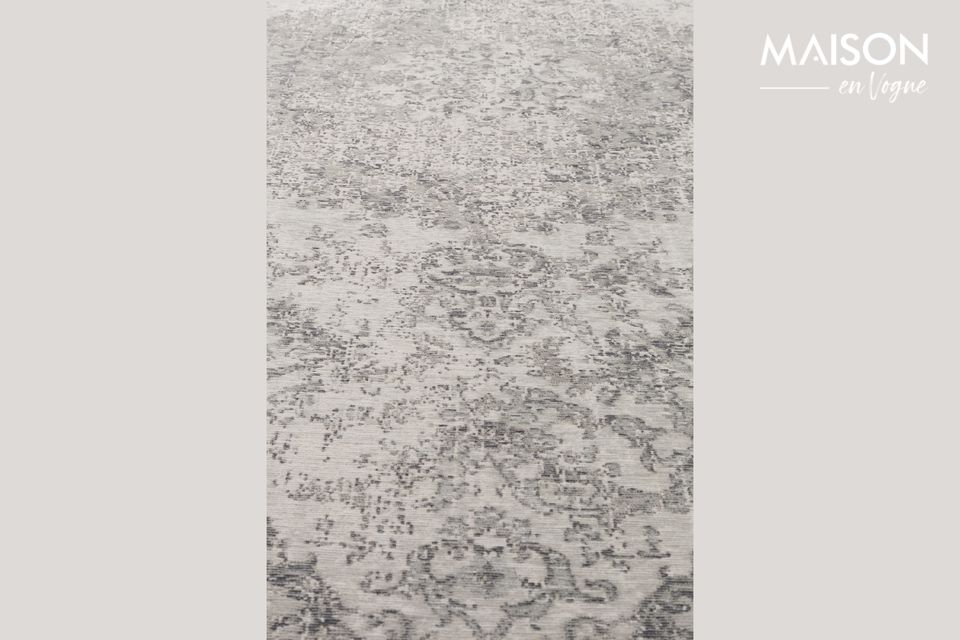 También apreciará su practicidad ya que esta alfombra también es adecuada para la calefacción