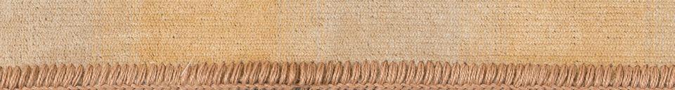 Descriptivo Materiales  Alfombra Raz 160X230 Camello