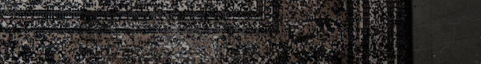 Descriptivo Materiales  Alfombra Rugged oscuro