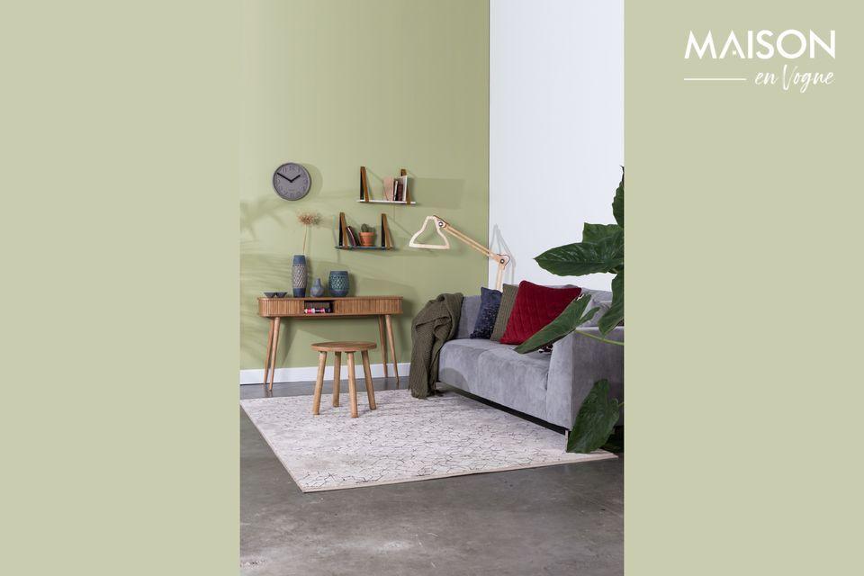 Esta alfombra Yenga 160x230 Crepúsculo es ideal para vestir su interior con una nota cálida