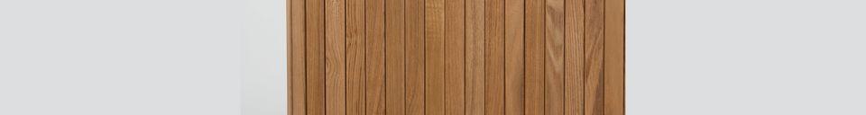 Descriptivo Materiales  Aparador de madera Barbier