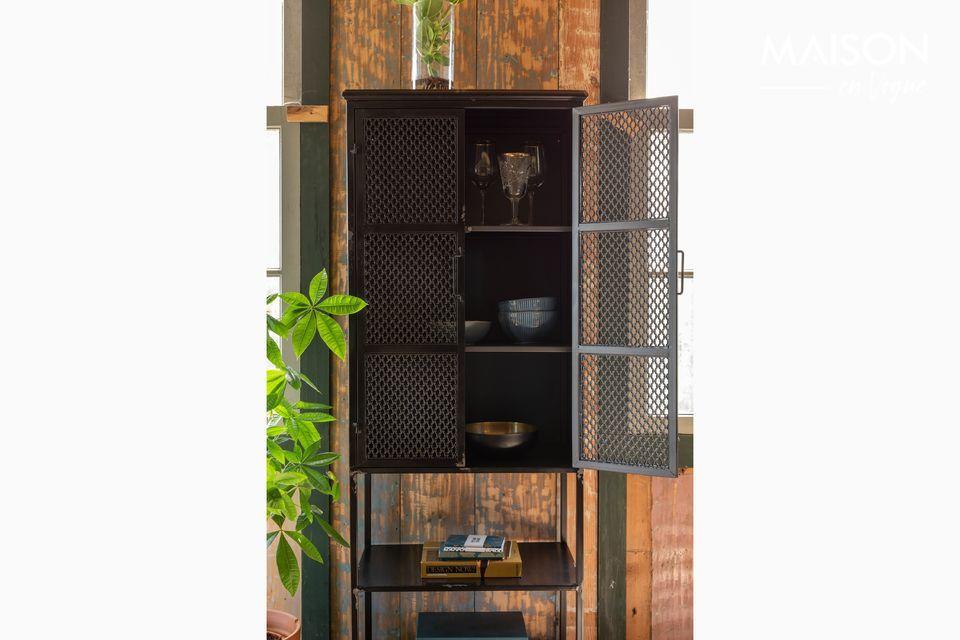 La fuerza del acero para un gabinete elegante