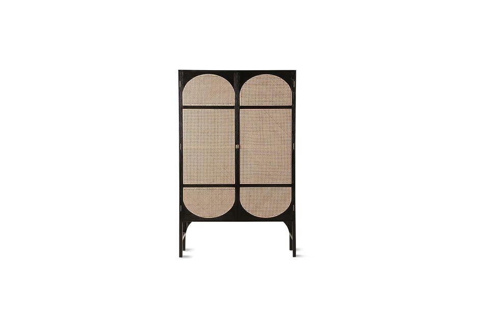 El armario retro negro HK Living le dará carácter a su decoración interior