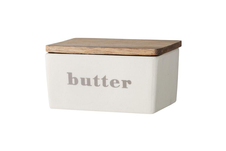 Una sobria y elegante caja de mantequilla
