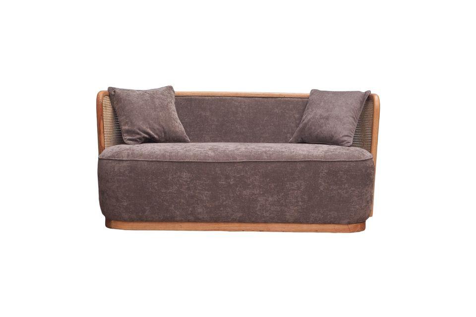 Su firme comodidad le dará la experiencia de un sofá tan agradable como su diseño