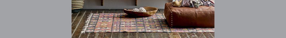 Descriptivo Materiales  Bandeja de terracota Tauves azúl
