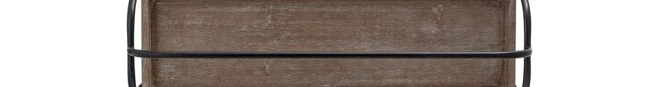 Descriptivo Materiales  Bandeja Meon de madera