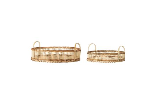 Bandejas de bambú Oletta Clipped