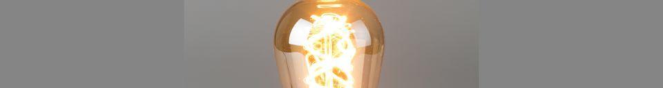 Descriptivo Materiales  Bombilla Gold Drop