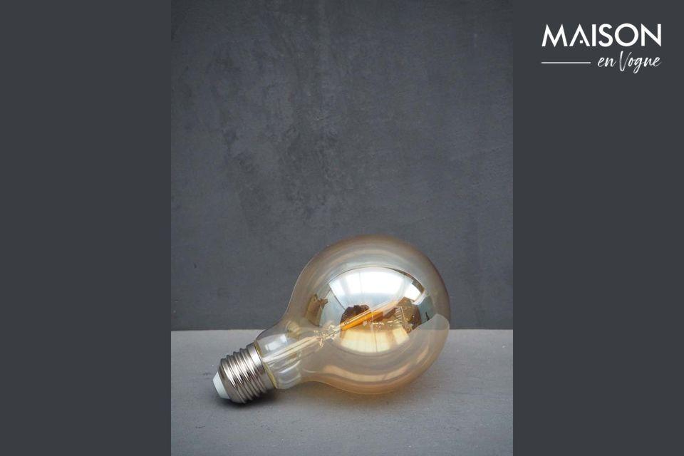 Bombilla LED ámbar E27 Chehoma