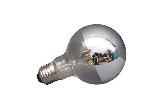 Bombilla LED plateada E27 Clipped