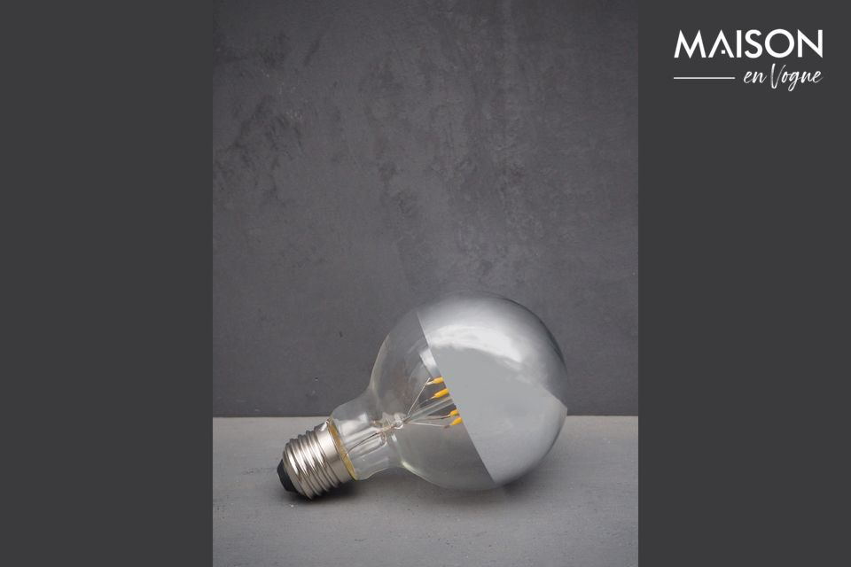 Bombilla LED plateada E27 Chehoma