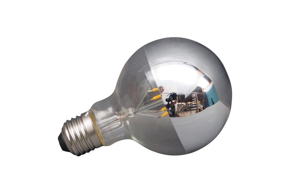 Una bombilla LED con un toque de originalidad