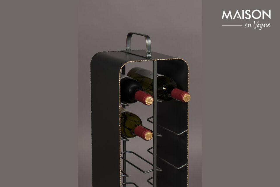 Ideal para pequeñas colecciones de vino