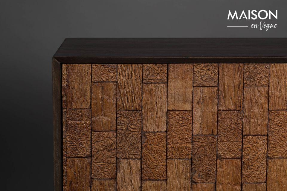 Un aparador natural de diseño que encajará perfectamente en su sala de estar