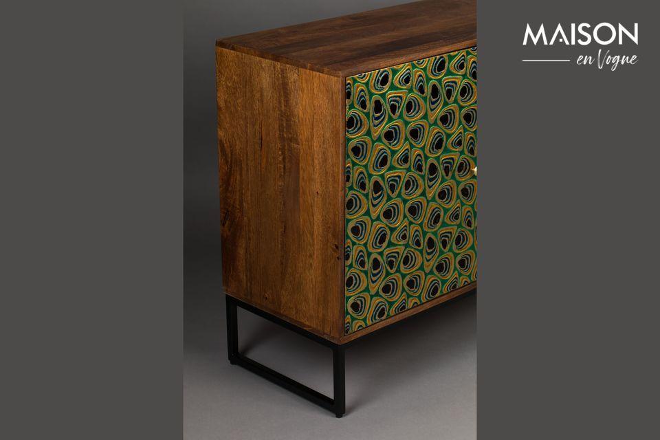 Ofrece un hermoso espacio de almacenamiento con un estilo único